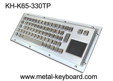 चीन Rugged Industrial Keyboard with Touchpad , Stainless Steel Material फैक्टरी