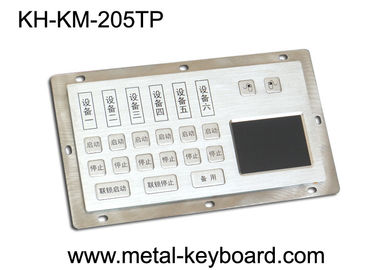 चीन Dust - Proof Panel Mount Keyboard with Stainless Steel Material for Info - Kiosk फैक्टरी