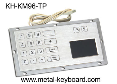 चीन Industrial Panel Mount Touchpad Keyboard with USB Interface , Custom Mechanical Keyboard फैक्टरी