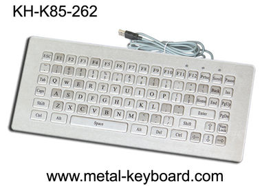चीन Mini Size Water Resistant Industrial Computer Keyboard Rugged 85 Keys Customized Layout फैक्टरी